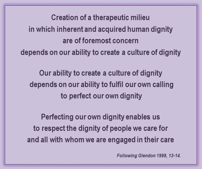 essay on dignity and respect in nursing